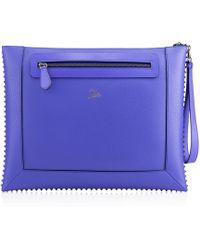 Christian Louboutin Blue Peter Pouch - Lyst
