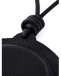 Ann Demeulemeester - Logo Round Pendant Necklace - Lyst