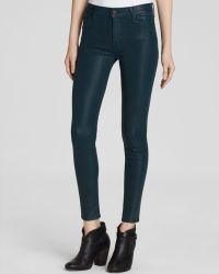 Hudson Jeans - Nico Mid Rise Super Skinny in Noncomformist - Lyst