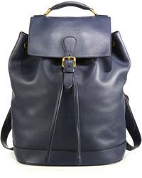 Burberry | Riverton Leather Backpack | Lyst