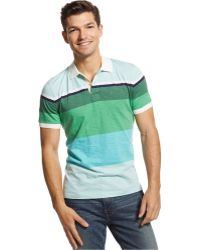 Tommy Hilfiger Mooney Striped Custom-Fit Polo - Lyst