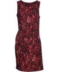 Thakoon Knee-Length Dress red - Lyst