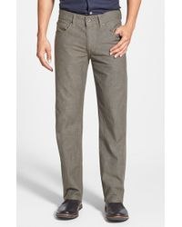 Joe's Jeans 'Brixton' Slim Fit Canvas Denim Jeans - Lyst