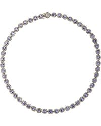 Munnu Diamond  Tanzanite Necklace - Lyst