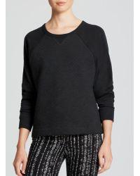 Rag & Bone Black Sweatshirt  Rein - Lyst