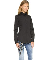 DSquared² Button Down Shirt - Black black - Lyst