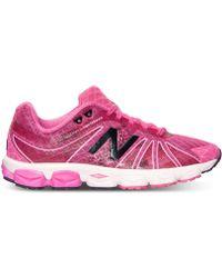 new balance women's heidi klum 1600 running sneakers from finish