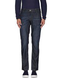 Alessandro Dell'acqua | blue Denim Trousers | Lyst