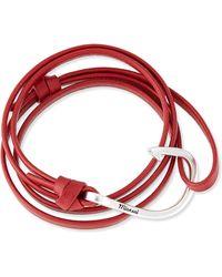 Miansai Hook Leather Bracelet - Lyst