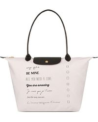 Longchamp | Le Pliage St Valentin Tote Bag | Lyst