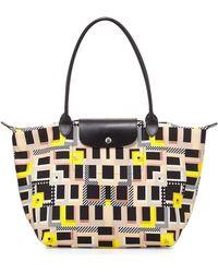 Longchamp Le Pliage Memphis Tote Bag black - Lyst