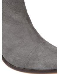 Rag & Bone Margot Nubuck Leather Ankle Boots - Lyst