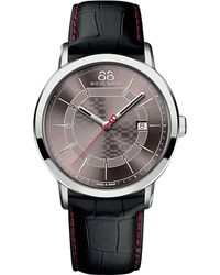 88 Rue Du Rhone 87wa140026 Stainless Steel And Leather Watch - Metallic