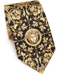 Versace   Baroque & Medusa Tie   Lyst