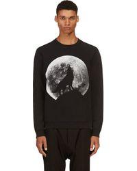 Diesel Black Howling Wolf S_anil Sweater - Lyst