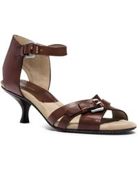 Michael Kors Raleigh Runway Leather Sandal - Lyst
