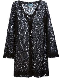 Blumarine Lace Tunic Dress - Lyst
