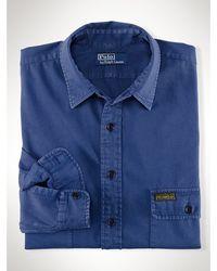 Polo Ralph Lauren Classic-fit Flap Pocket Shirt - Lyst