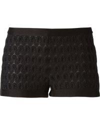 Missoni Zig Zag Crochet Shorts - Lyst