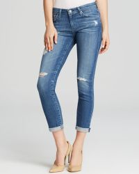 AG Adriano Goldschmied Jeans - Stilt Roll Up In 16 Years Swapmeet - Lyst