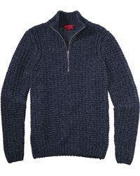 HUGO New-Wool Troyer 'Sbrandon' - Blue