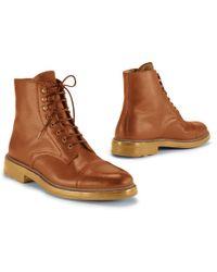 Ralph Lauren Distressed Macomb Boot - Lyst
