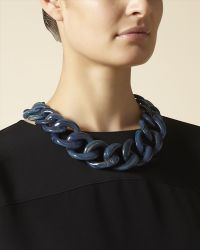 Jaeger - Chunky Chain Necklace - Lyst