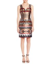 DSquared² | Jacquard Bodycon Dress | Lyst