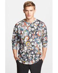 Moschino Can Print Sweatshirt - Lyst
