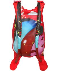 Manish Arora Candy Printed Padded Nylon Backpack - Multicolor