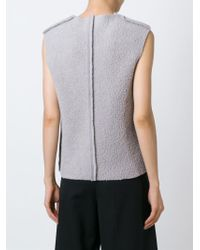 Charlie May   Sleeveless Sweater   Lyst