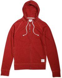 Lucky Brand Duofold Full-zip Hoodie - Lyst