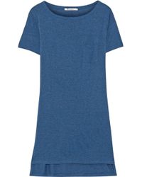 T By Alexander Wang Classic Jersey Mini Dress - Lyst