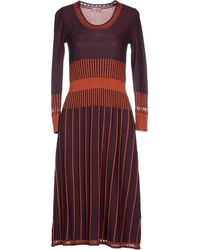 Philosophy di Alberta Ferretti Knee-Length Dress - Lyst