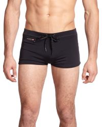 Diesel Aloha Swim Briefs black - Lyst