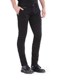 Diesel Black Chi-shaped Pants - Lyst