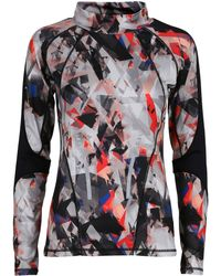 Y.A.S | Graphic Long Sleeve Active Top | Lyst