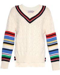 Preen Blythe Striped Sweater - Lyst
