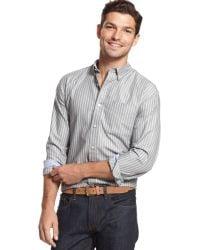 Tommy Hilfiger Richards Striped Shirt - Lyst