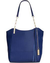 Calvin Klein Blue Pebble Tote - Lyst