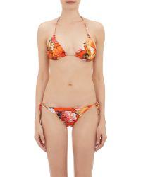 Givenchy - Flower & Butterfly-print Bikini Set - Lyst