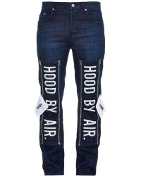 Hood By Air 1969 Embroidered Skinny Jeans - Lyst