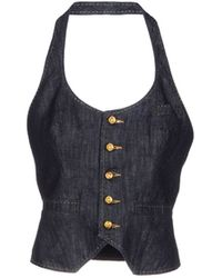 DSquared2 Blue Top - Lyst