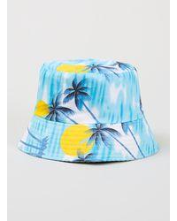 Topman Palm Tree Bucket Hat - Lyst