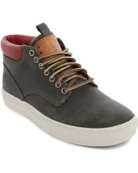 Timberland Cupsole Chukka Cognacoiled Leather Shoes - Lyst