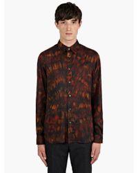 Paul Smith Mens Tiedye Print Lightweight Slim Fit Shirt - Lyst