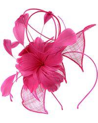 Minuet Petite - Large 3 Flower Fascinator - Lyst