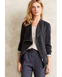 Greylin Lorimer Moto Sweater - Lyst