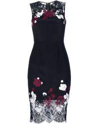 Erdem Mid Length Dress - Lyst