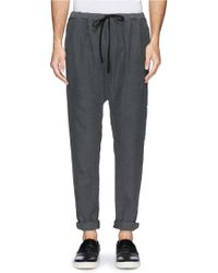 1.61 - 'palau' Well Washed Twill Pants - Lyst